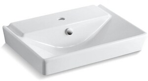 Kohler Reve 174 Bathroom Sink In White 5027 1 0 Ferguson