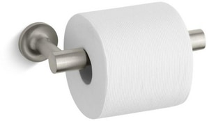 Kohler Purist® Wall Mount Toilet Tissue Holder in Vibrant Brushed Nickel K14377-BN