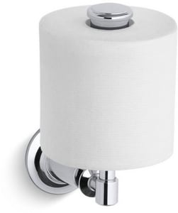 Kohler Archer® Wall Mount Toilet Tissue Holder in Polished Chrome K11056-CP