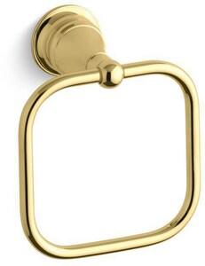 Kohler Revival® Towel Ring in Vibrant Polished Brass K16140-PB
