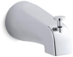 KOHLER Coralais® 4-7/8 in. Diverter Bath Spout with NPT Connection Polished Chrome K15136-CP