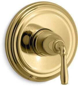 Kohler Devonshire® Single Lever Handle Pressure Balancing Valve Trim in Vibrant Polished Brass KT397-4-PB