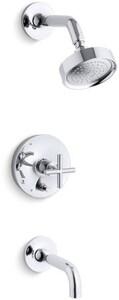 Kohler Purist® Single Handle Single Function Bathtub & Shower Faucet in Polished Chrome Trim Only KT14421-3E-CP