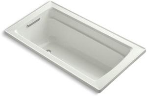Kohler Archer® 60 x 32 in. Drop-In Bathtub with Reversible Drain in Dune K1123-NY