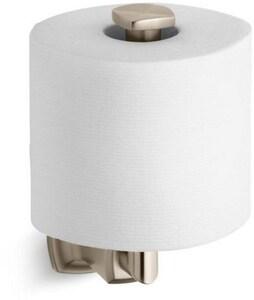 Kohler Margaux® Wall Mount Toilet Tissue Holder in Vibrant Brushed Bronze K16255-BV