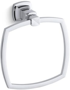 Kohler Margaux® Square Closed Towel Ring in Polished Chrome K16254