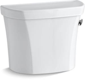 Kohler Wellworth® 1.28 gpf Toilet Tank in White with Right-Hand Trip Lever K4467-RZ-0