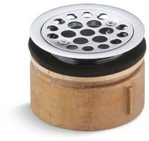 KOHLER 3 in. Brass Sink Basket Strainer in Polished Chrome K9146-CP