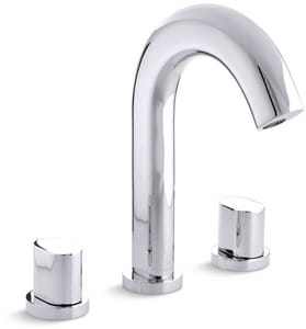 Kohler Oblo® Deckmount Bath Faucet Trim in Polished Chrome KT10059-9-CP