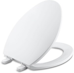 Kohler Brevia™ Quick-Release™ Plastic Elongated Closed Front With Cover Toilet Seat K4774