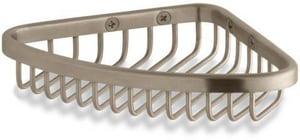 KOHLER Small Corner Shower Basket in Vibrant Brushed Bronze K1898-BV
