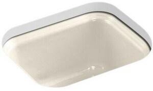 KOHLER Northland™ 15 x 12-3/8 x 7-5/8 in. Single-Bowl Bar Sink in Almond K6589-U-47