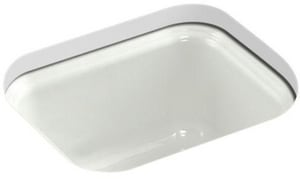 KOHLER Northland™ No Hole Single Bowl Undermount Bar Sink in Dune K6589-U-NY