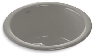 KOHLER Porto Fino™ 18-3/8 x 8-5/8 in. Single Bowl Drop-In Bar Sink No Hole in Cashmere K6565-K4