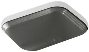 KOHLER Northland™ Undermount Bar Sink in Thunder Grey K6589-U-58