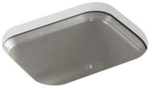 KOHLER Northland™ No-Hole Bar Sink with Sink Strainer in Cashmere K6589-U-K4