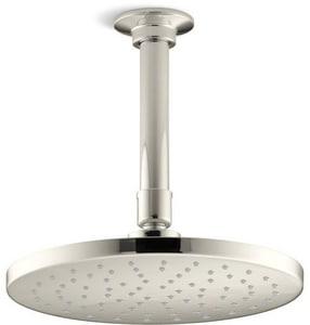Kohler Contemporary Single Function Rain Showerhead in Vibrant Polished Nickel K13688