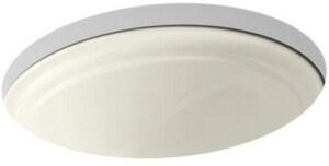 Kohler Devonshire® Undermount Bathroom Sink in Biscuit K2350-96