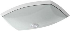 Kohler Kelston® 20-3/8 x 15-1/4 in. Undermount Bathroom Sink Ice Grey K2382-95