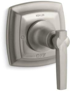 Kohler Margaux® Volume Control Valve Trim with Single Lever Handle in Vibrant Brushed Nickel KT16241-4-BN