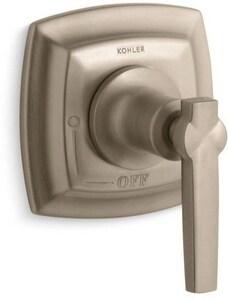 Kohler Margaux® Volume Control Valve Trim with Single Lever Handle in Vibrant Brushed Bronze KT16241-4-BV