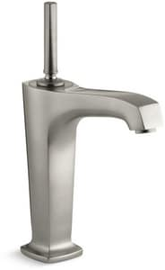 Kohler Margaux® Single Handle Vessel Filler Bathroom Sink Faucet in Vibrant Brushed Nickel K16231-4-BN