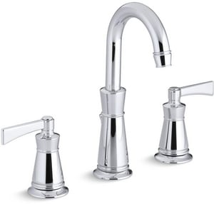 Kohler Archer® Two Handle Widespread Bathroom Sink Faucet in Polished Chrome K11076-4-CP