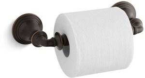 KOHLER Devonshire® Wall Mount Toilet Tissue Holder in Oil Rubbed Bronze K10554-2BZ