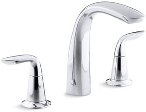 KOHLER Refinia® Two Handle Roman Tub Faucet in Polished Chrome Trim Only KT5323-4-CP