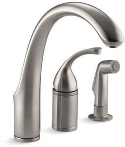 Kohler Forte® Single Handle Kitchen Faucet in Vibrant Stainless K10430-VS