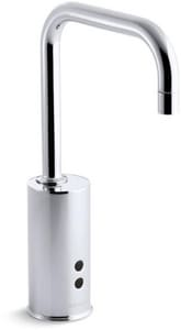 KOHLER No Handle Sensor Bathroom Sink Faucet in Polished Chrome K7518-CP