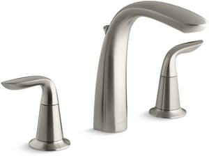 KOHLER Refinia® Two Handle Roman Tub Faucet in Vibrant Brushed Nickel Trim Only KT5324-4-BN