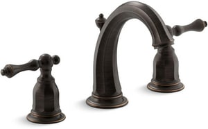KOHLER Kelston® Two Handle Widespread Bathroom Sink Faucet in Oil Rubbed Bronze K13491-4-2BZ