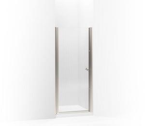 KOHLER Fluence® 65-1/2 x 31-1/2 in. Frameless Pivot Shower Door in Matte Nickel K702402-G54-MX