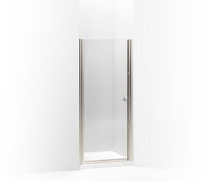 KOHLER Fluence® 65-1/2 x 31-1/2 in. Frameless Pivot Shower Door in Matte Nickel K702402-L-MX