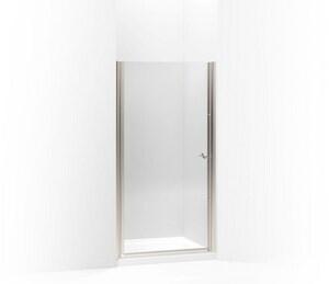 KOHLER Fluence® 65-1/2 x 39 in. Frameless Pivot Shower Door in Matte Nickel K702414-L-MX