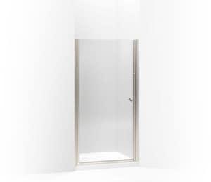 KOHLER Fluence® 65-1/2 x 34 in. Frameless Pivot Shower Door in Matte Nickel K702406-L-MX