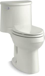 Kohler Adair® 1.28 gpf Elongated One Piece Toilet in Dune K3946-NY