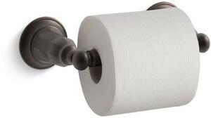 KOHLER Kelston® Wall Mount Toilet Tissue Holder in Oil Rubbed Bronze K13504-2BZ