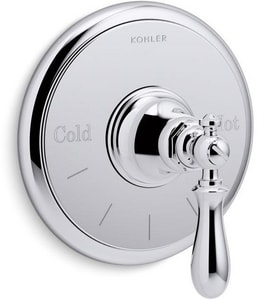 Kohler Artifacts® Thermostatic Valve Trim Only in Polished Chrome KT72769-9M