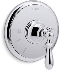 Kohler Artifacts® Single Handle Bathtub & Shower Faucet in Polished Chrome (Trim Only) KT72769-9M