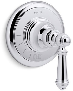 Kohler Artifacts® Volume Control Valve Trim with Single Lever Handle in Polished Chrome KT72771-4