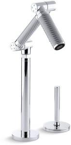 KOHLER Karbon® Single Lever Handle Bar Faucet in Polished Chrome K6268-C11-CP