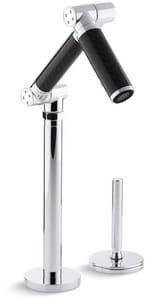 Kohler Karbon® 1.5 gpm Deckmount Lavatory Faucet in Polished Chrome K6268-C12-CP