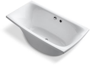 KOHLER Escale® 72 x 36 in. Freestanding Bathtub in White K14037-G-0