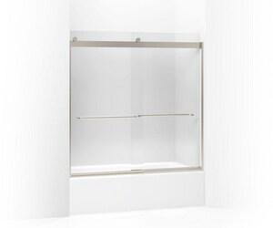 Kohler Levity® 59-3/4 x 59-5/8 in. Bath Door in Matte Nickel K706006-L-MX