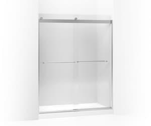 Kohler Levity® 60-1/4 in. Shower Door with Towel Bar in Bright Silver K706015-L-SH