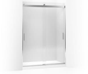 Kohler Levity® Rear Sliding Glass Panel and Assembly Kit for Shower Door in Bright Polished Silver K706123-L-SHP