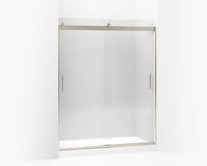 Kohler Levity® Sliding Bath or Shower Door in Bright Polished Silver K706112-L-SHP