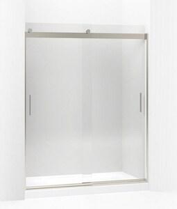 KOHLER Levity® 74 x 31-1/2 in. Front Sliding Glass Panel and Assembly Kit for Shower Door in Brushed Nickel K706212-L-NX